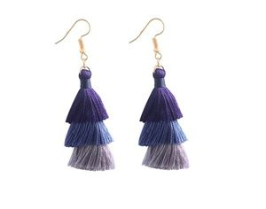 Jewelry - GORGEOUS DIVA TASSEL EARRINGS NEW